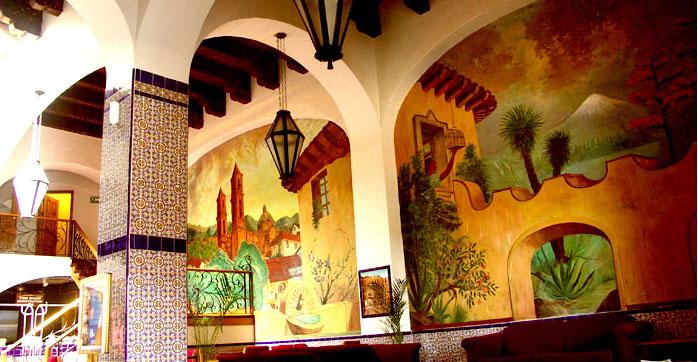 Rosarito Beach Hotel lobby