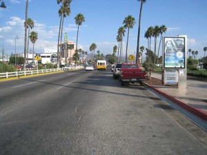 Ensenada's Main Street