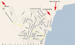San Felipe Map