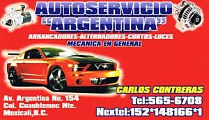 Autoservicio Argentina