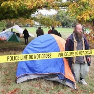 Tent City Arrest