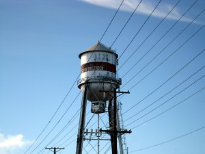The Calexico Water Tank