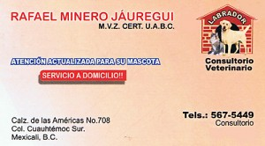 Dr. Rafael's card