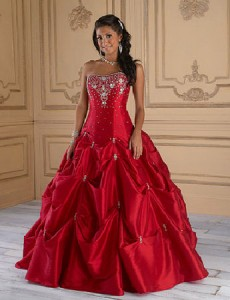 The Quinceañera dress