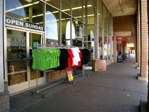 """The """"Open Sunday"""" store"""