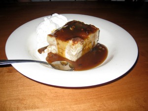 Famous Dave's bread pudding!