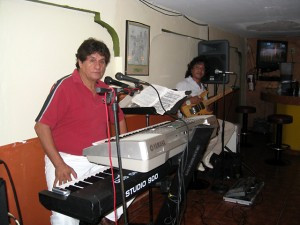 Great music at El Pueblo Veijo!