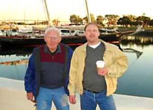 Gary Chrisman & his grandfather
