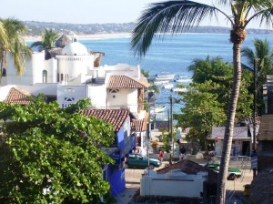 Puerto Escondido on the Pacific Ocean