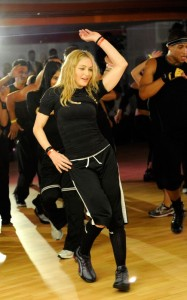 Madonna shows them how