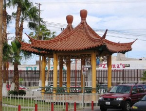 Plaza de la Amistad (Friendship Plaza) pagodas