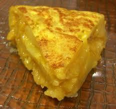 In Spain a tortilla is an omelette