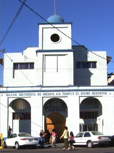 El Divino Redentor, the 90 year old Methodist church Mexicali
