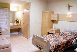 Super-clean patient rooms!