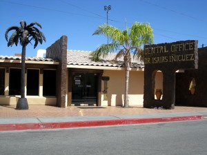 A dental office in Los Algodones